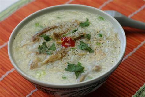 recette cuisine chinoise traditionnelle chào gà soupe vietnamienne de riz au poulet
