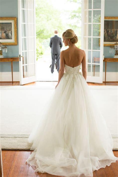 robe longue dos nu mariage robe longue bustier et dos nu blanche pour mariee la