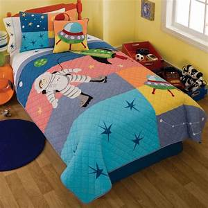 Astronaut Quilt With Pillow Sham - Townhouse Linens