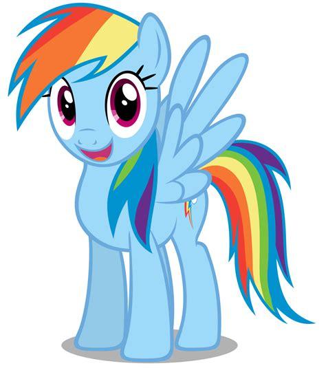 My Little Ponies Rainbow Dash