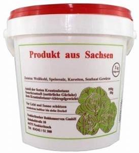 Frisches Tannengrün Kaufen : typisch sachsen rohes frisches sauerkraut kaufen ~ Lizthompson.info Haus und Dekorationen