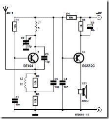 Radio Circuits Blog Super Regenerative Receiver