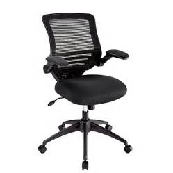 realspace calusa mesh mid back chair black by office depot