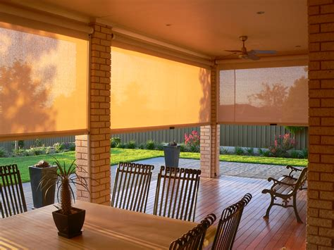 exterior patio shades the surprising benefits of adding patio blinds to your