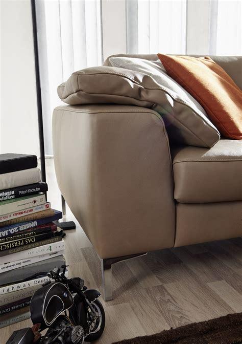 canape en cuir design canapé 3 places idyl design en cuir