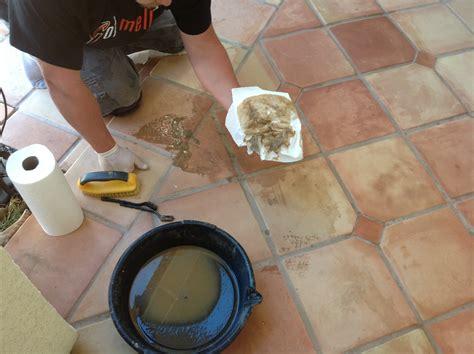 superior saltillo tile floor refinishing restoration