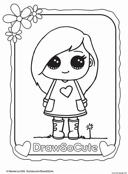 Coloring Draw Pages Printable Popular Animal Drawing