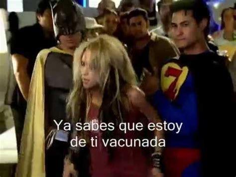 shakira spanish lyrics te aviso te anuncio