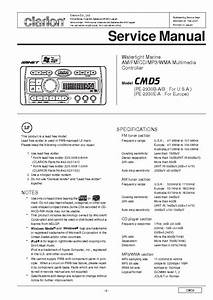 Clarion Cmd5 Service Manual Download  Schematics  Eeprom