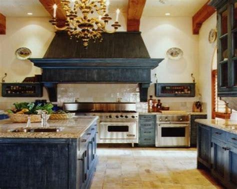 Lovely Antique Blue Kitchen Cabinets  Gl Kitchen Design