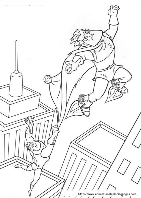 incredibles coloring pages educational fun kids