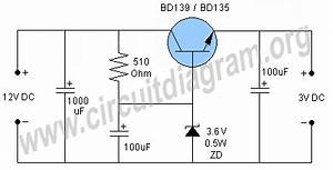 12v to 3v converter circuit diagram With converter 12v