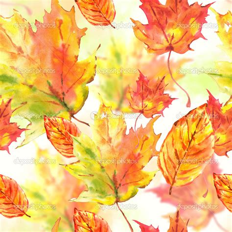 Autumn Wallpapers Watercolor by Magic Background For Pictureicon