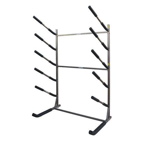 freestanding surfboard rack stoneman sports glacik tier freestanding rack for sup and