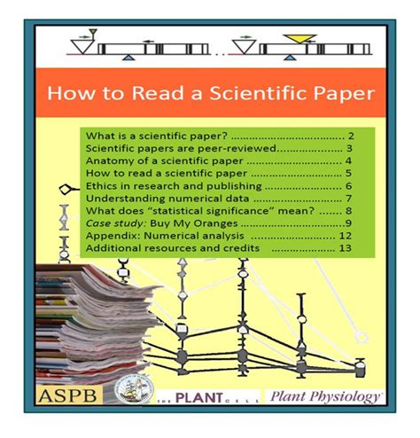 """""""how To Read A Scientific Paper"""" And """"case Study Reading"""