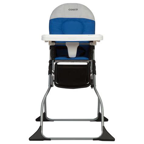 cosco slim fold high chair kontiki cosco flat fold high chair kontiki walmart