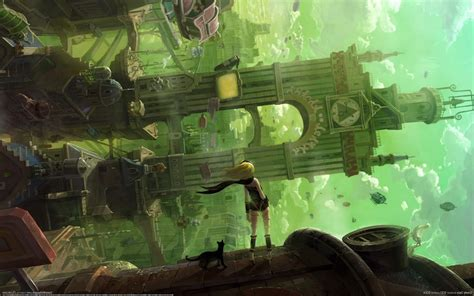 Gravity Rush, Fantasy Art Wallpapers HD / Desktop and