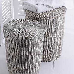 Natural, Hand, Woven, Laundry, Baskets