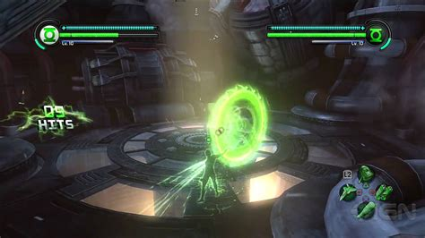 green lantern rise of the manhunters co op gameplay