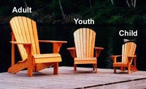 Child Size Adirondack Chair Plan - Downloadable