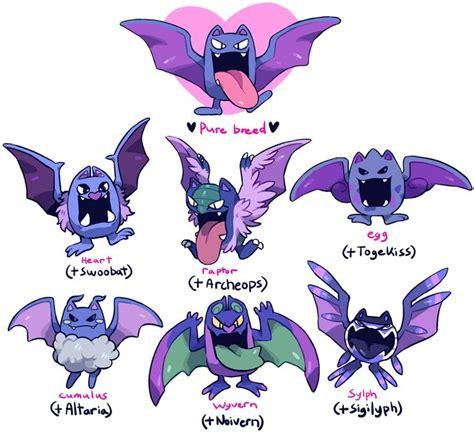 pokemon golbat zubat variations crossbreeds breeds fusion variants deviantart wanted mega sources did missingno stuff fan cute meme cool pre