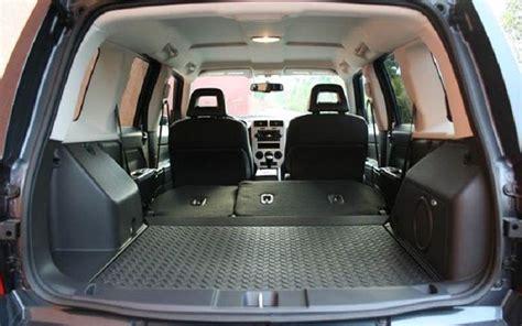 jeep patriot rear interior  trunk space  jeep