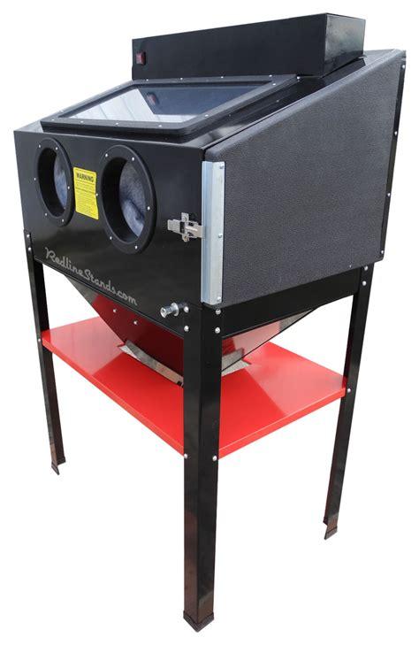 media blasting cabinet lighting new redline re36dl light abrasive sand blaster