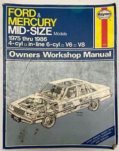 Haynes 773 Ford  U0026 Mercury Mid