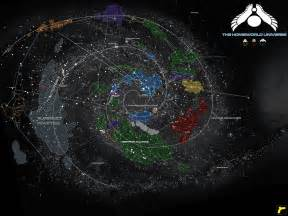 Homeworld Universe Map