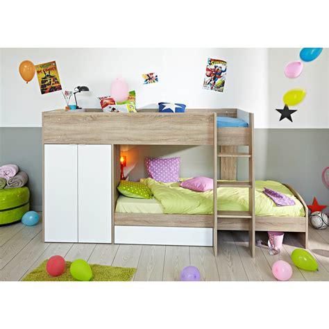 Hochbett Fuer Kinder by Parisot Stim Bunk Bed Avenue Cuckooland