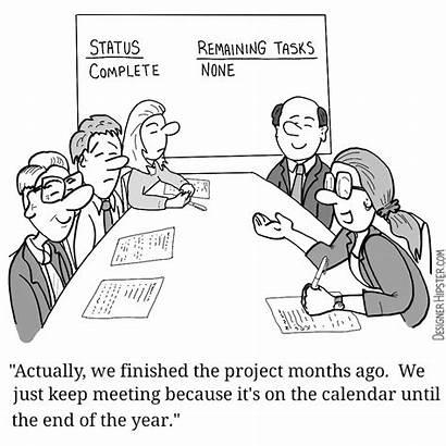 Cartoons Office Calendar Meeting Meetings Cartoon Comic