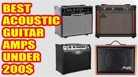 Best Acoustic Guitar Amps Under 0
