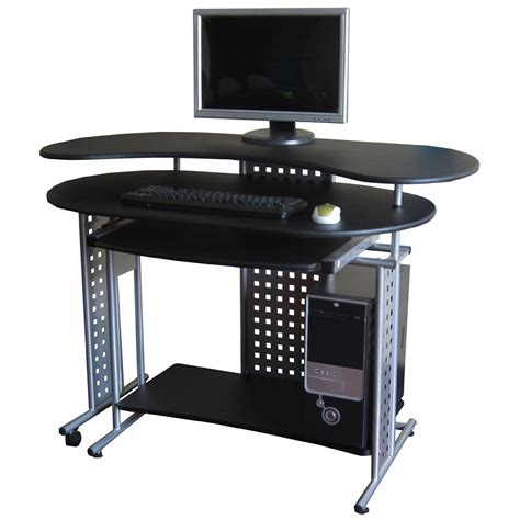 Product Of The Week A Desk L With A Mid Air Suspended Switch by Comfort Products Expandable Quot L Quot Computer Desk 307425