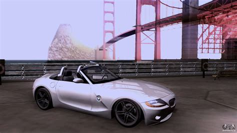Bmw Z4 Coupe V10 by Bmw Z4 V10 For Gta San Andreas