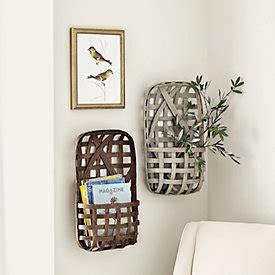 tobacco basket wall d 233 cor ballard designs