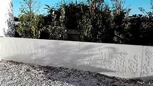 Muret De Cloture : mur de sout nement en l muret de cl ture b ton ~ Melissatoandfro.com Idées de Décoration