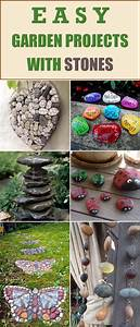 Easy, Garden, Projects, With, Stones