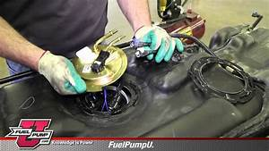 How To Install Fuel Pump Modular Assembly E3797m In A 2009