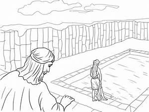 King David And Bathsheba Coloring Page Free Printable Coloring Pages