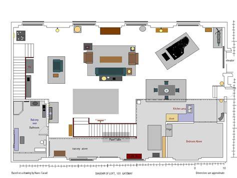 basement layouts nick 39 s loft floor plans