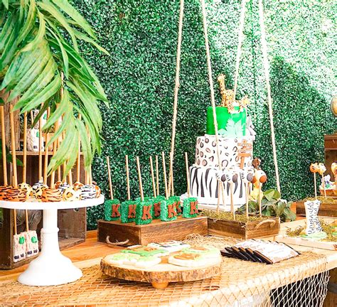 Wild Jungle Safari Birthday Party Theme TINSELBOX