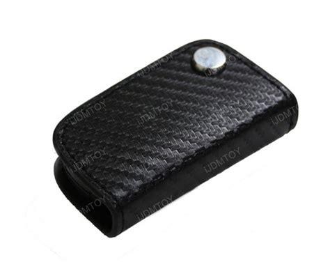 Bmw Black 3d Carbon Fiber Key Holder