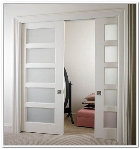 barn doors for homes interior choosing a frosted glass interior door to your apartment