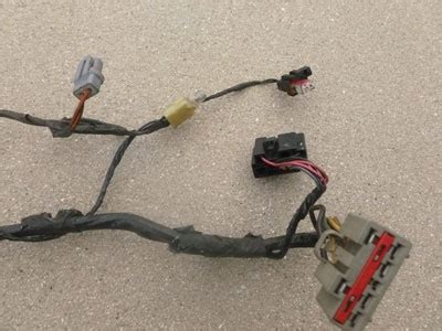 1998 Ford Expedition Wiring Harnes 1998 ford expedition xlt door wiring harness front left