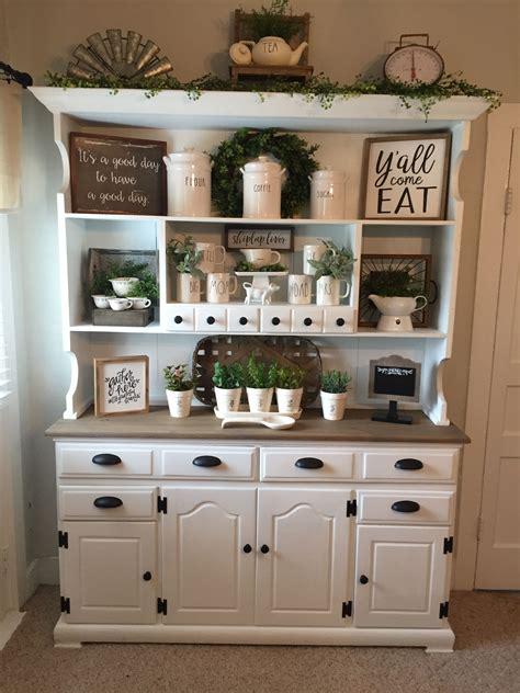 farmhouse hutch decor dining room ideas muebles de