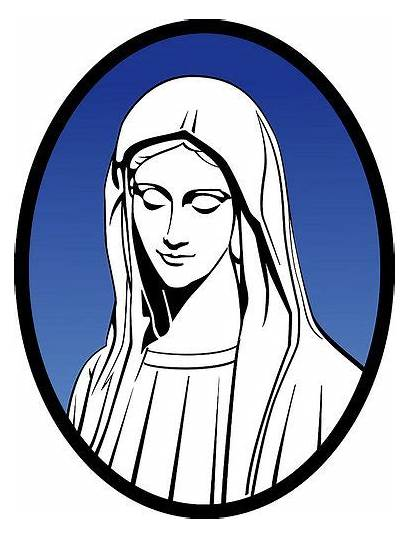 Mary Virgin Clipart Holy Mother Jesus Clipground