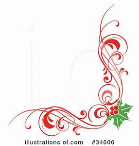 Christmas Corner Border Clipart - Clipart Suggest