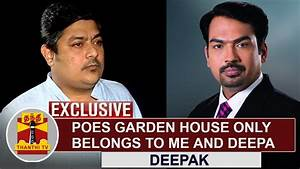EXCLUSIVE | Poes Garden House only belongs to me and Deepa ...