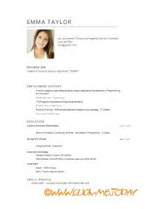 curriculum for toddlers free free cv model cv model word doc pdf