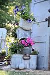 34 Best Vintage Garden Decor Ideas and Designs for 2017 flower garden ideas and decorations